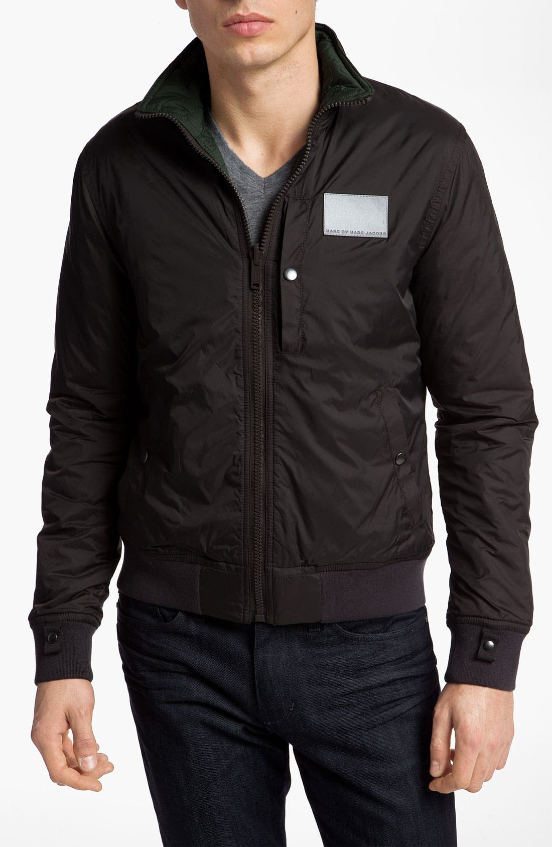 Main Image - MARC BY MARC JACOBS 'Sigmund' Reversible Jacket