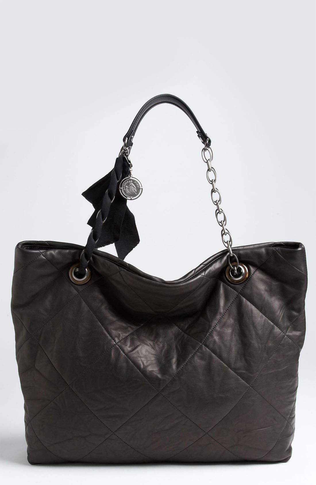 Alternate Image 1 Selected - Lanvin 'Amalia Cabas - Large' Leather Tote