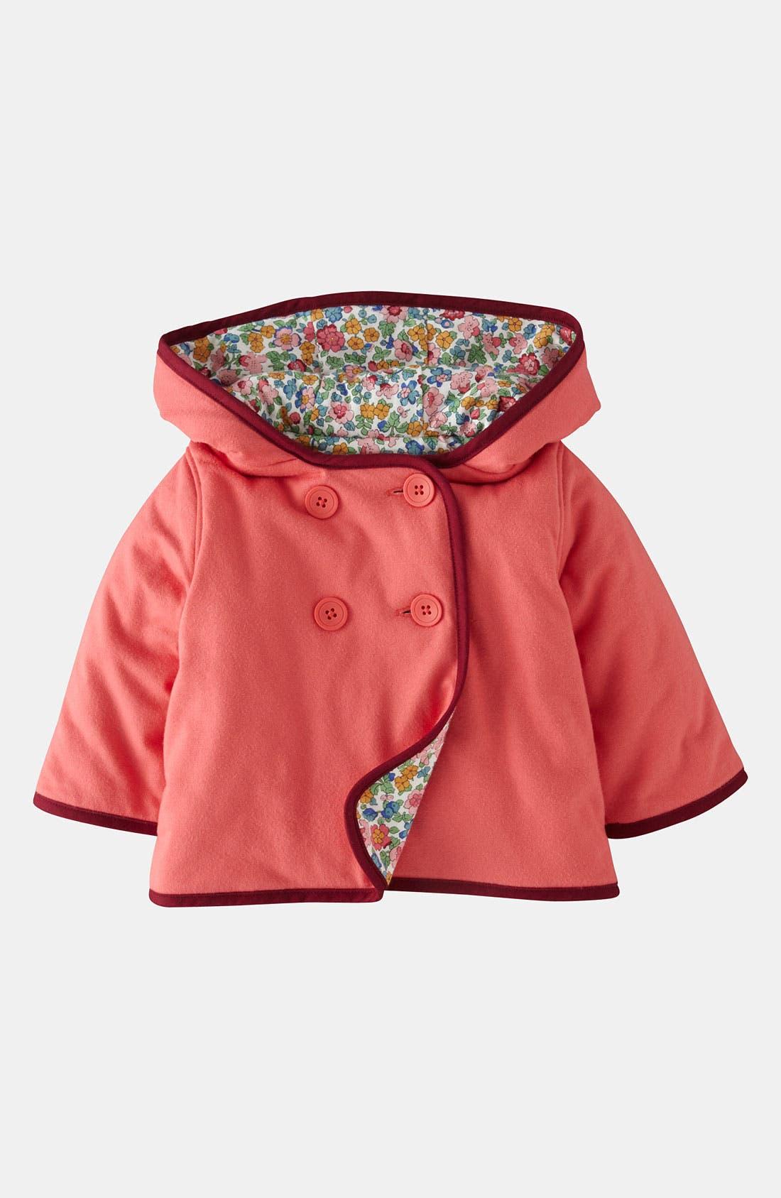 Alternate Image 1 Selected - Mini Boden Jersey Jacket (Infant)
