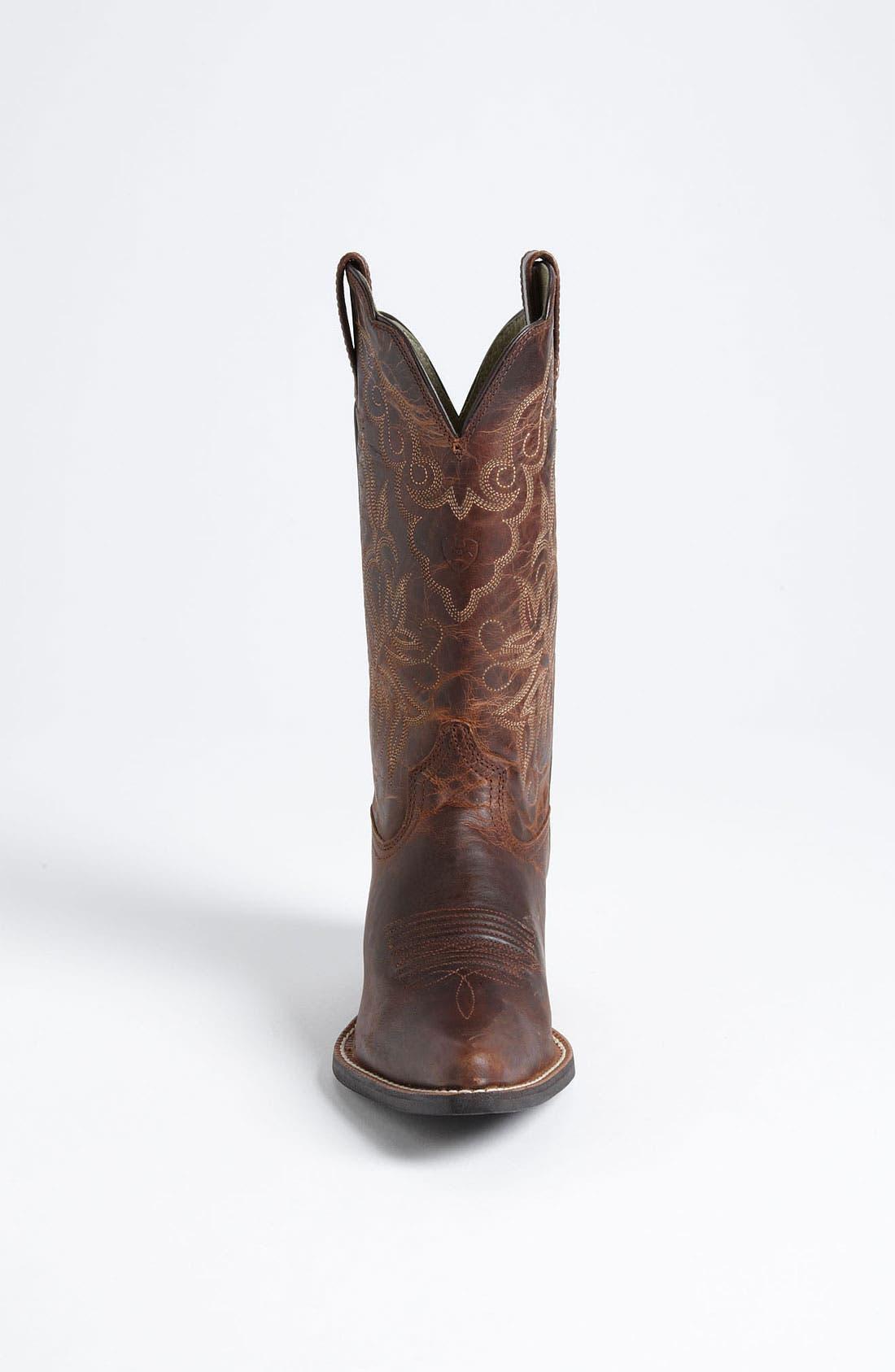 Alternate Image 3  - Ariat 'Heritage Western J Toe' Boot