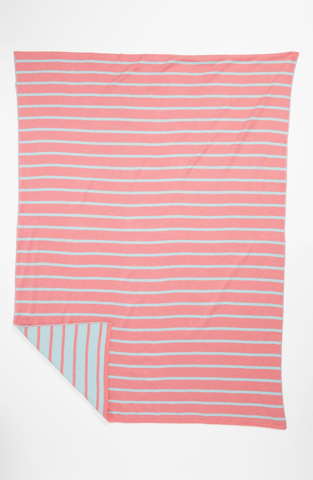 Alternate Image 1 Selected - Stem Baby 'Bright Stripe' Organic Cotton Blanket