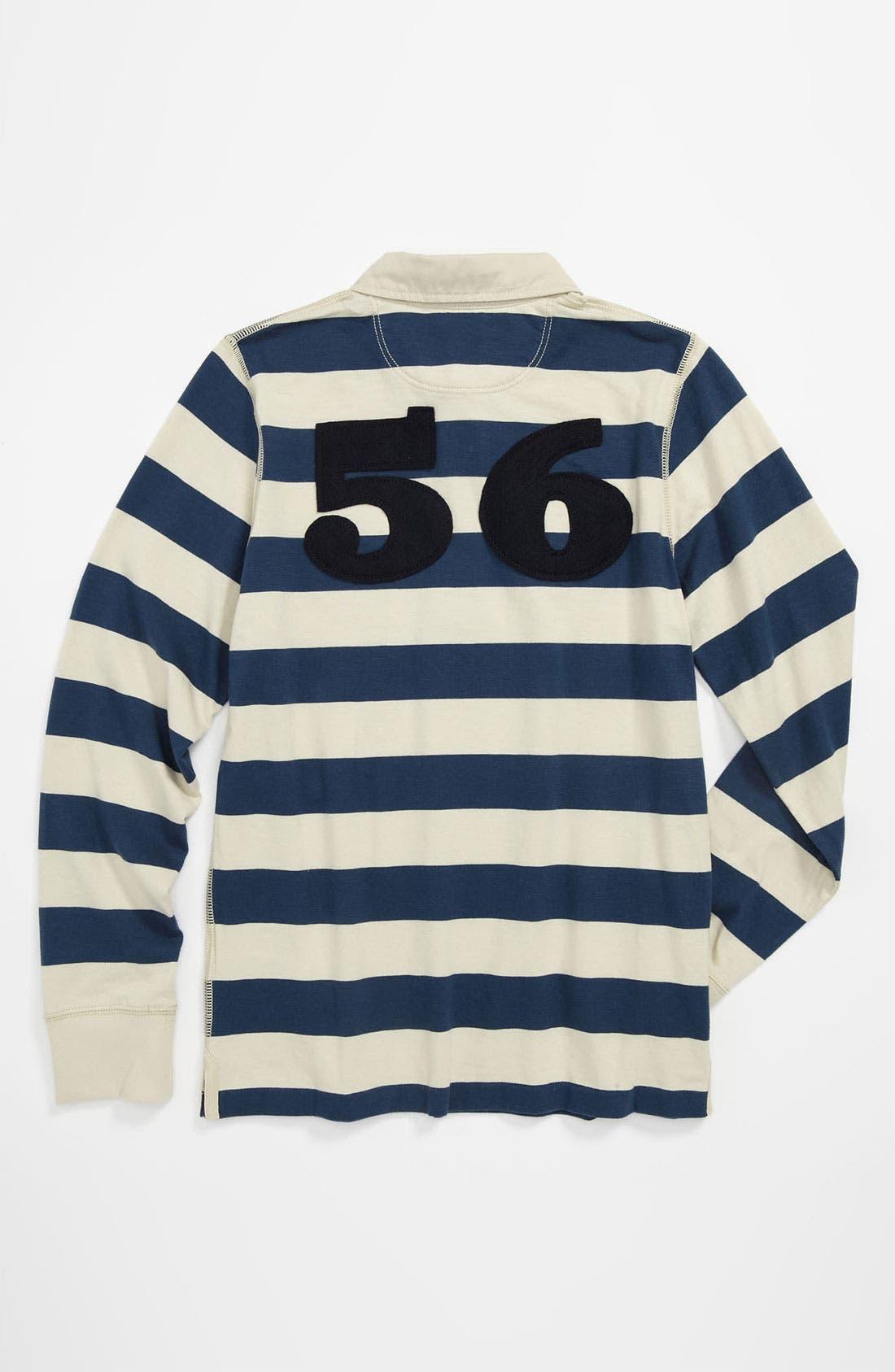 Alternate Image 2  - Burberry 'Mini Beecroft' Stripe Polo Shirt (Little Boys & Big Boys)