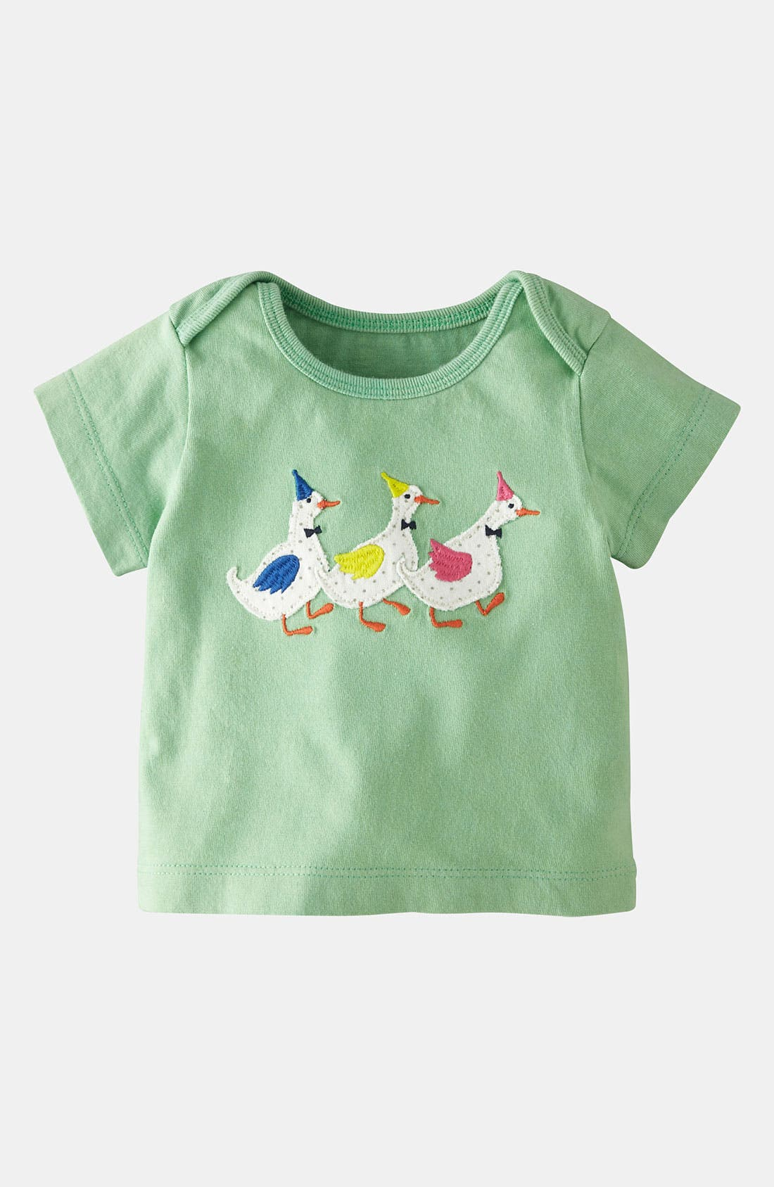 Alternate Image 1 Selected - Mini Boden 'Party Animals' Tee (Baby)