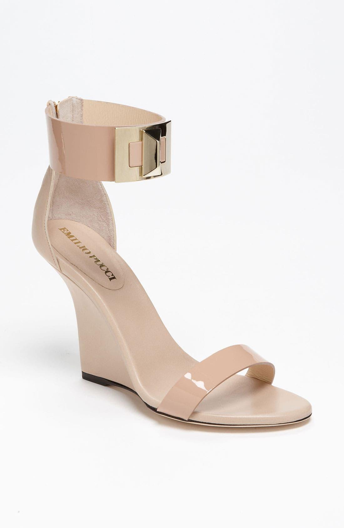 Main Image - Emilio Pucci 'Marquise' Wedge Sandal