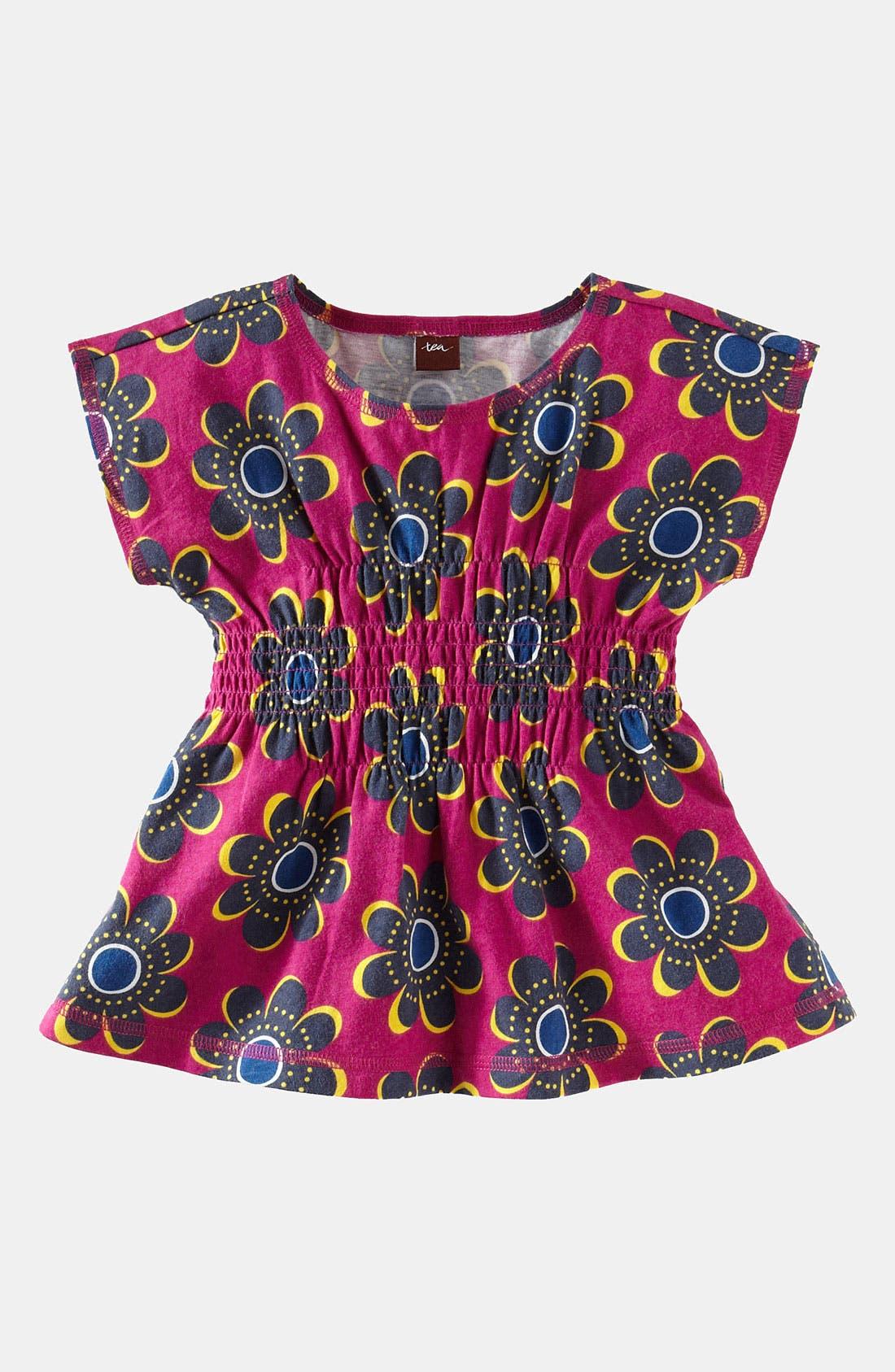 Alternate Image 1 Selected - Tea Collection 'Rosebank' Smocked Top (Little Girls & Big Girls)