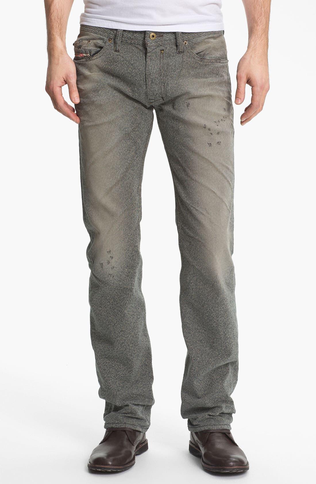 Alternate Image 2  - DIESEL® 'Safado' Straight Leg Jeans (0807M)