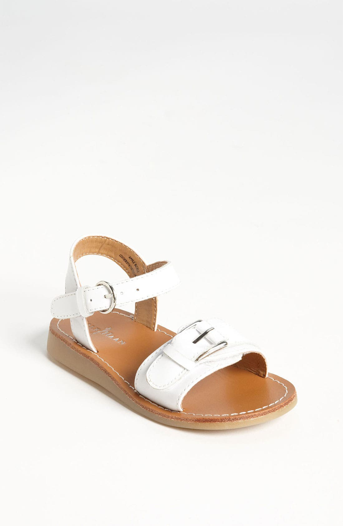 Alternate Image 1 Selected - Cole Haan 'Apple Buckle' Sandal (Walker & Toddler)