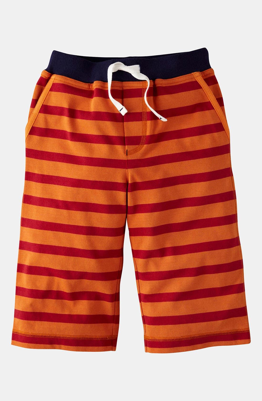 Alternate Image 1 Selected - Mini Boden Stripe Shorts (Toddler, Little Boys & Big Boys)