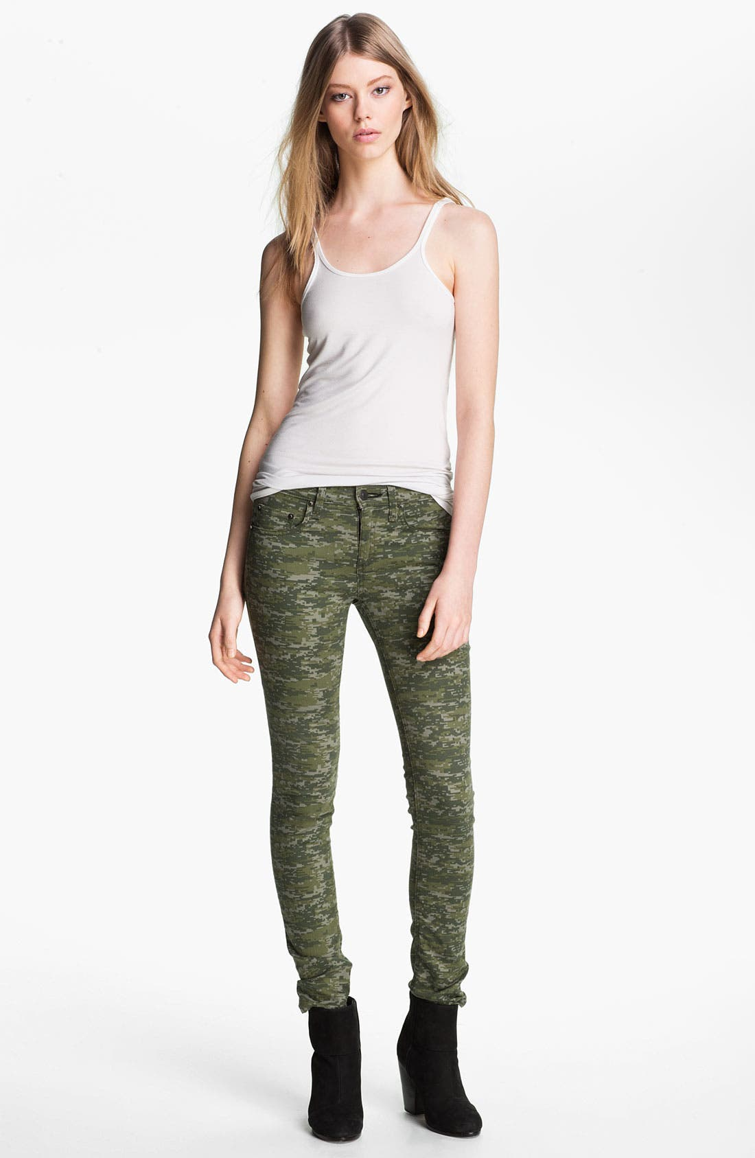 Alternate Image 3  - rag & bone/JEAN Skinny Stretch Jeans