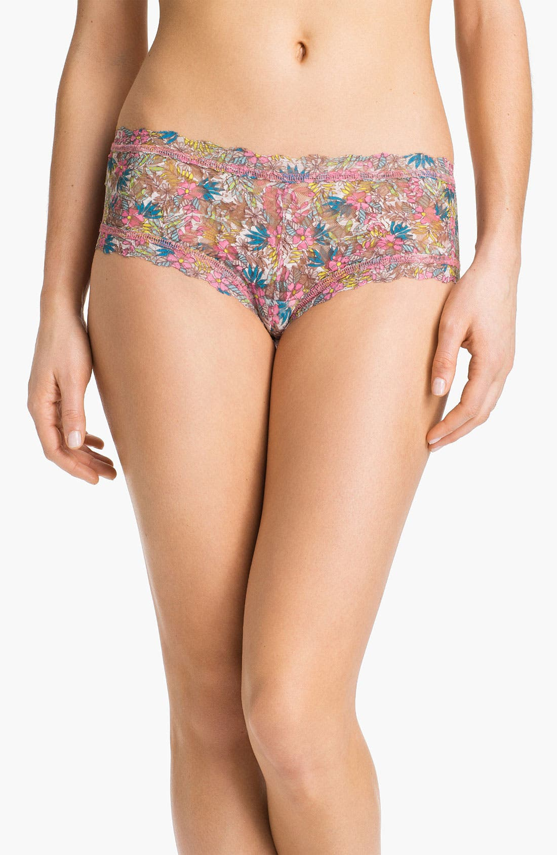 Alternate Image 1 Selected - Hanky Panky 'Flower Child' Boyshorts