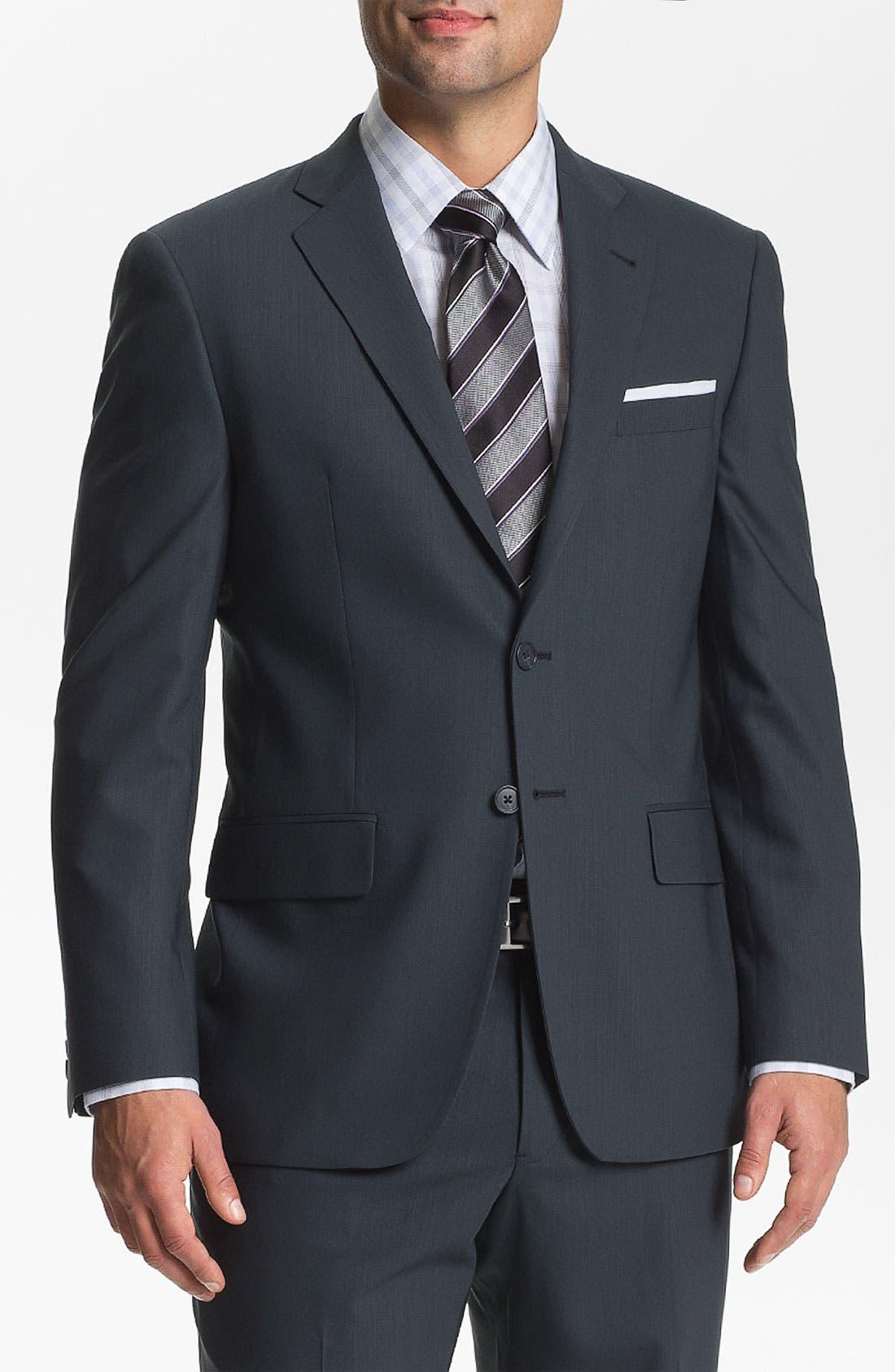 Alternate Image 1 Selected - Joseph Abboud 'Profile' Trim Fit Suit