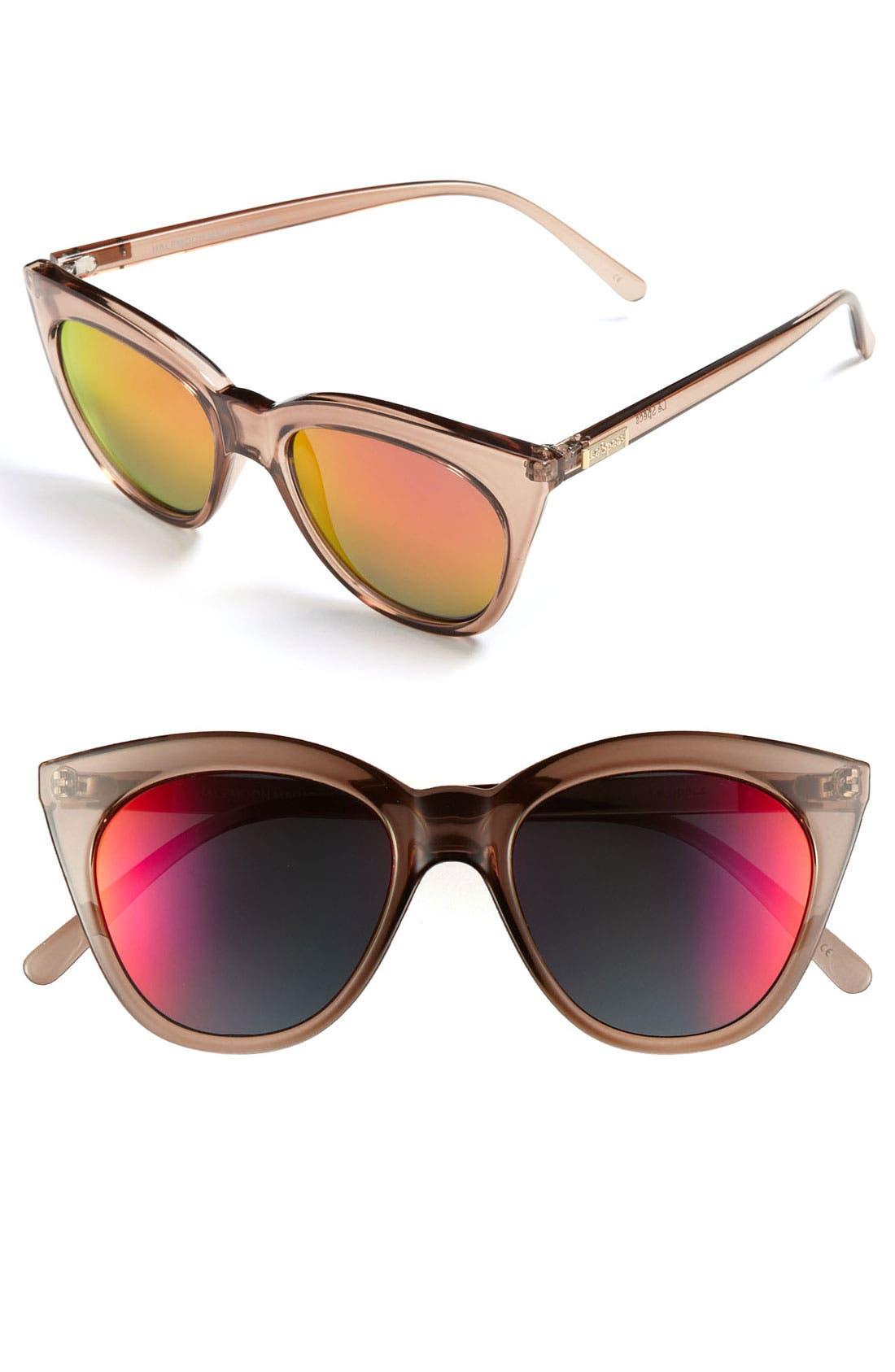 Alternate Image 1 Selected - Le Specs 'Halfmoon Magic' 53mm Sunglasses