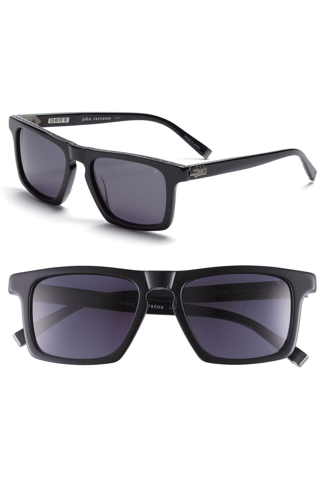 Main Image - John Varvatos Collection 53mm Sunglasses