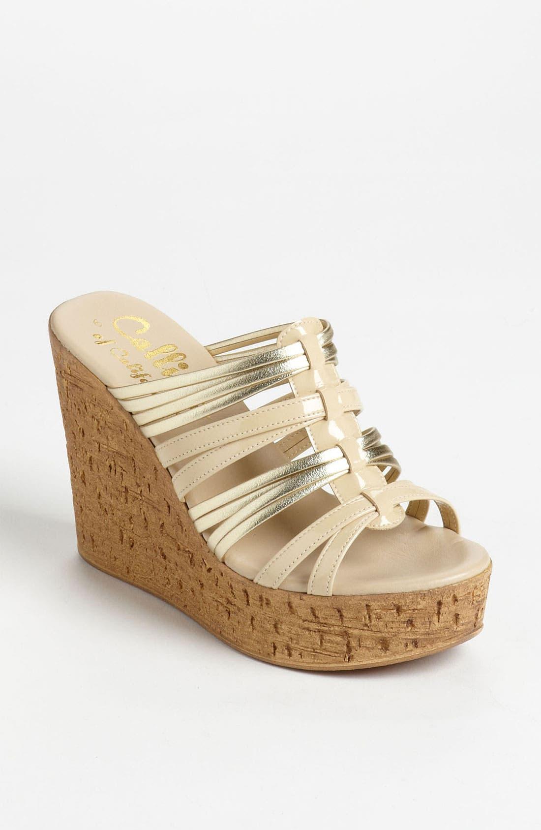Main Image - Callisto 'Jeanette' Wedge Sandal