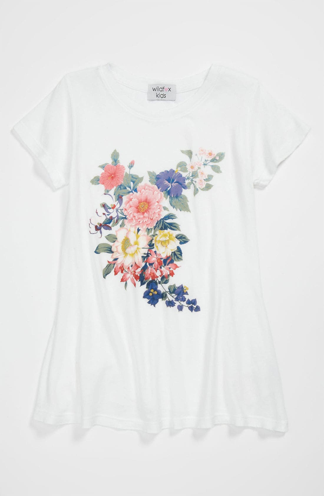 Alternate Image 1 Selected - Wildfox Graphic Tee (Big Girls)