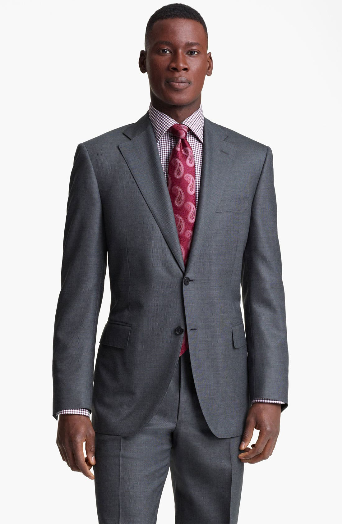Main Image - Canali Wool Blend Suit