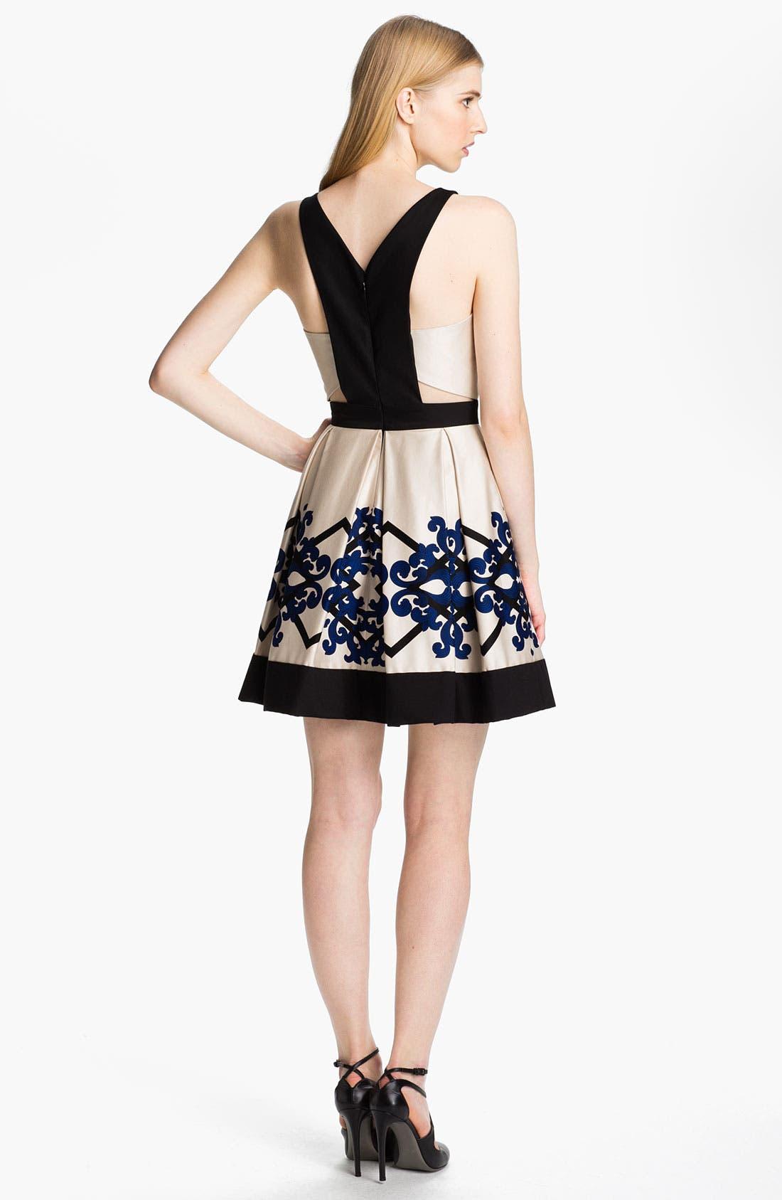 Alternate Image 2  - Robert Rodriguez Box Pleated Dress