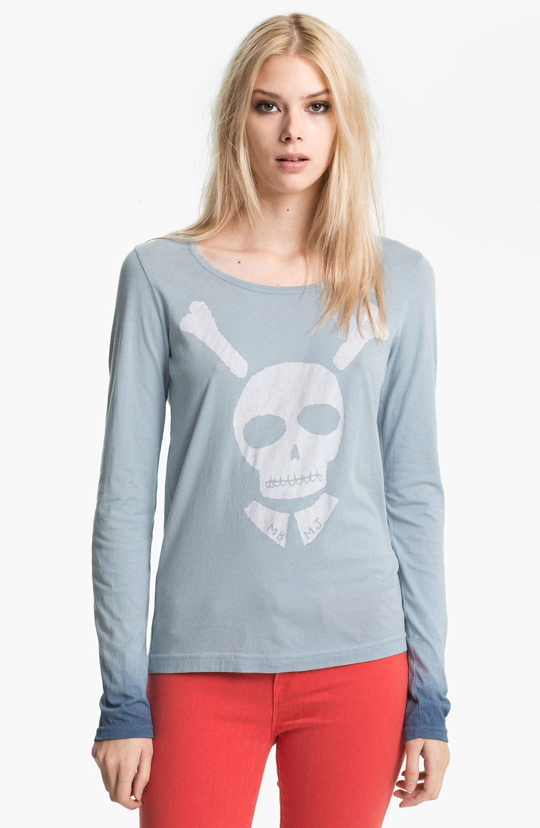Alternate Image 1 Selected - MARC BY MARC JACOBS 'Bones About It' Tee