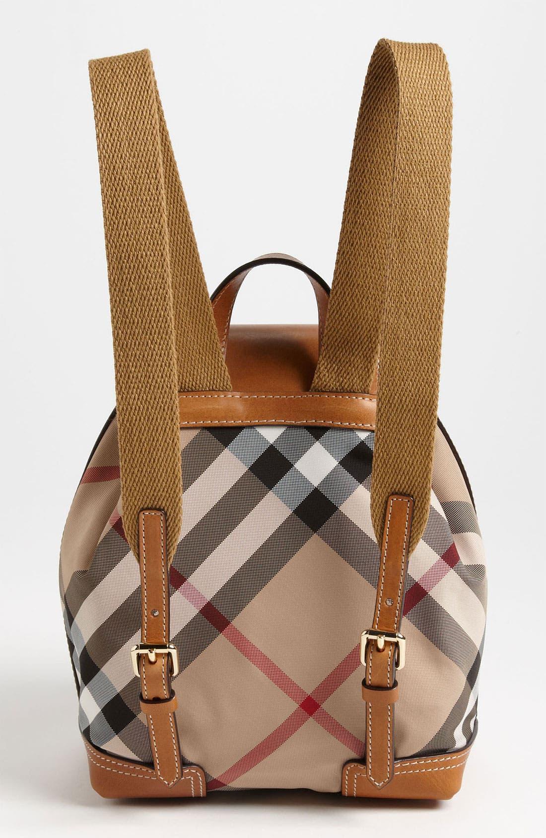 Alternate Image 4  - Burberry 'Dennis - Small' Backpack (Girls)