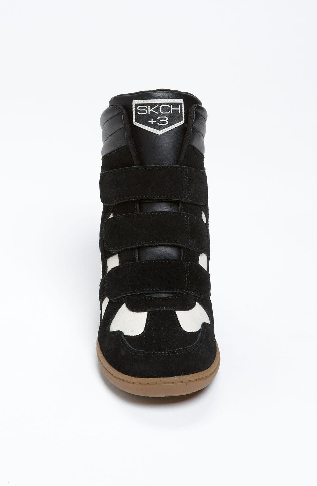 Alternate Image 3  - SKECHERS 'Raise Your Glass' Wedge Sneaker (Women)