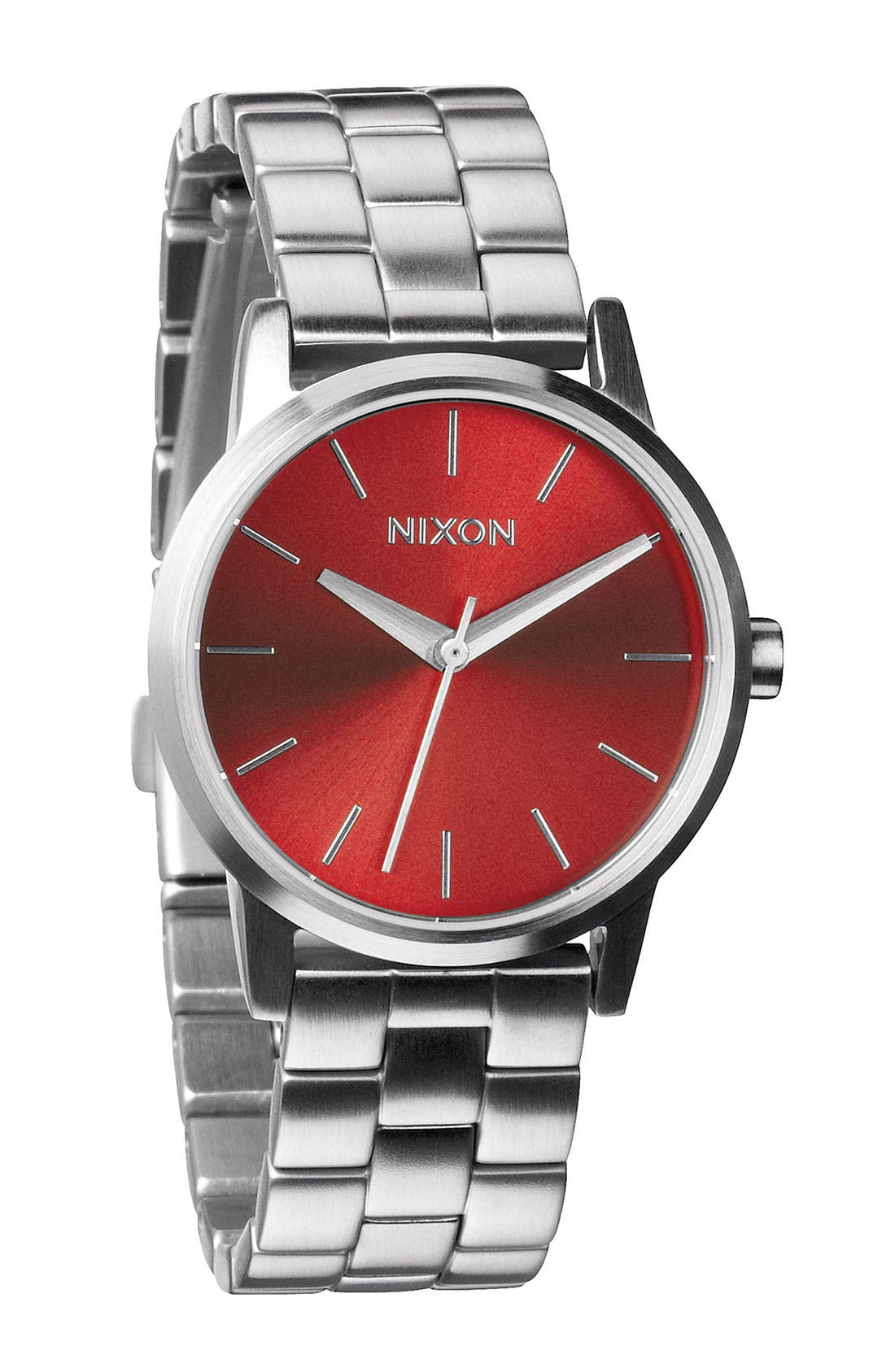 Alternate Image 1 Selected - Nixon 'The Small Kensington' Bracelet Watch, 30mm