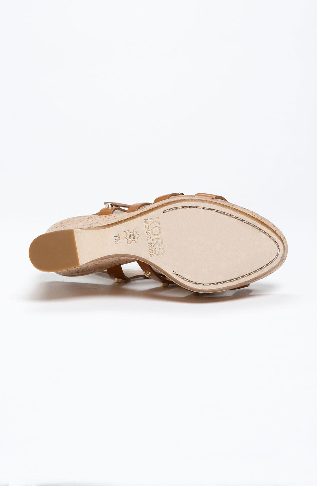 Alternate Image 4  - KORS Michael Kors 'Kaida' Sandal