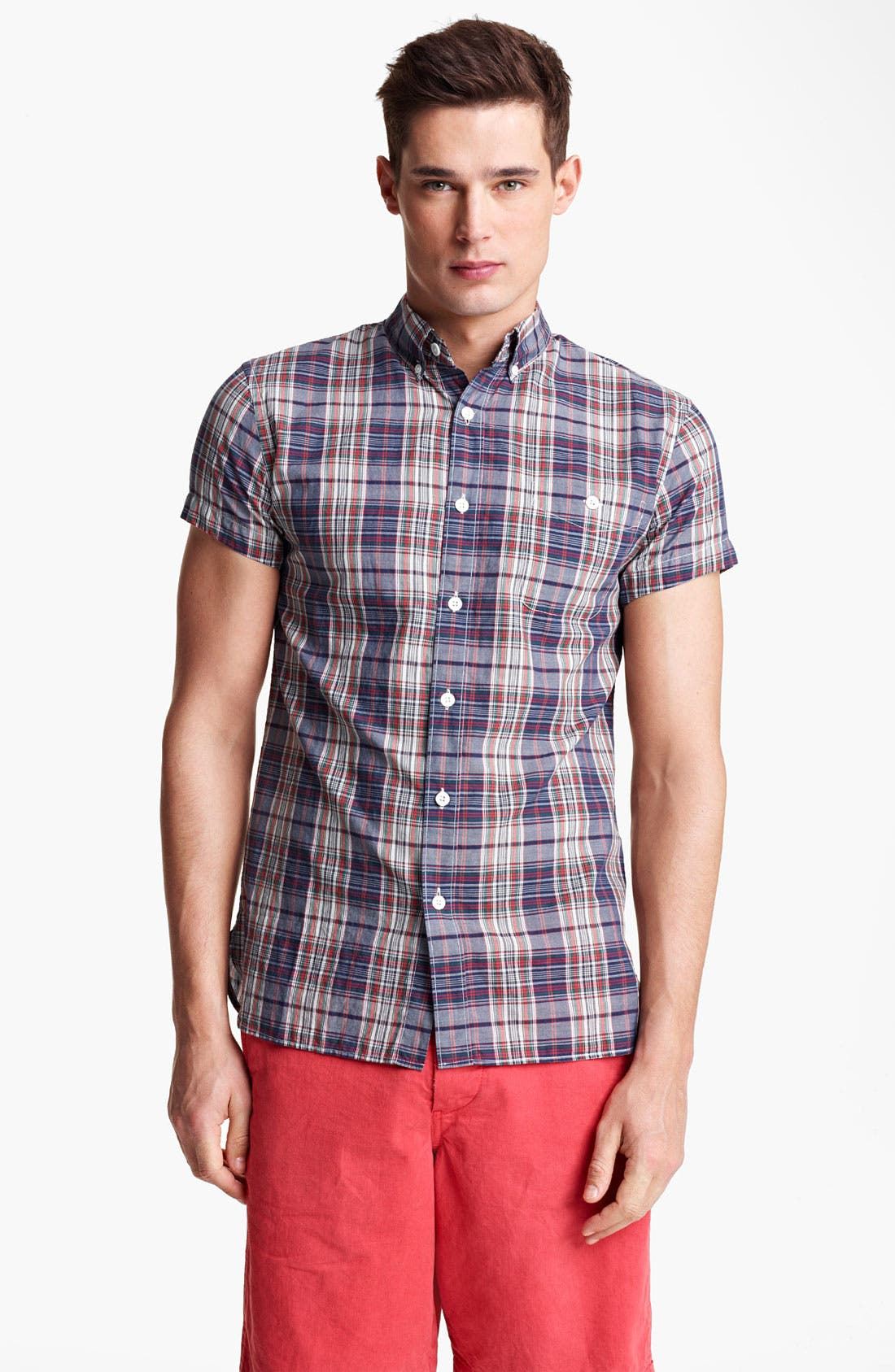 Main Image - Todd Snyder Plaid Shirt
