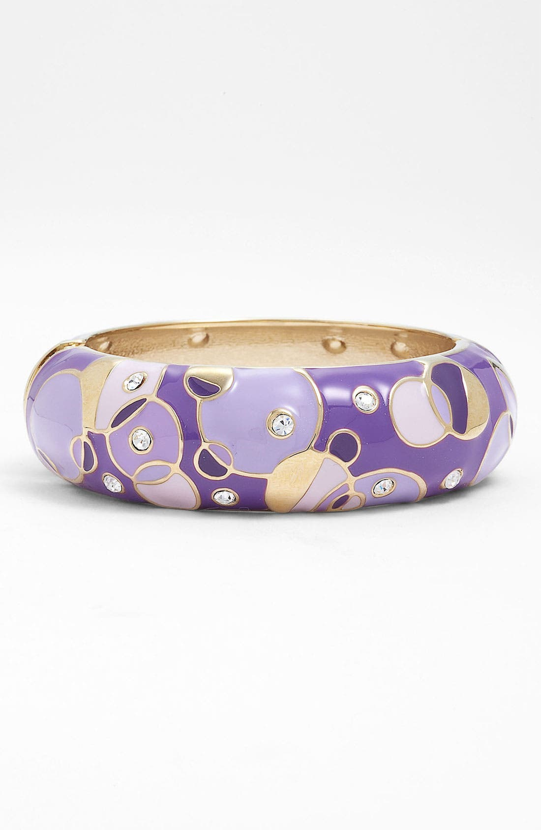 Alternate Image 1 Selected - Sequin 'Kandinsky' Large Enamel Bangle