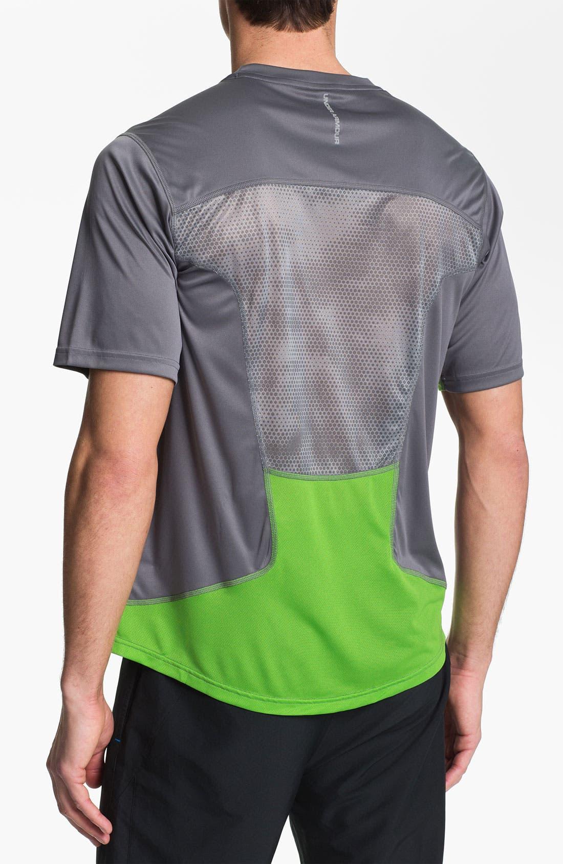 Alternate Image 2  - Under Armour 'Run' HeatGear® Flyweight T-Shirt