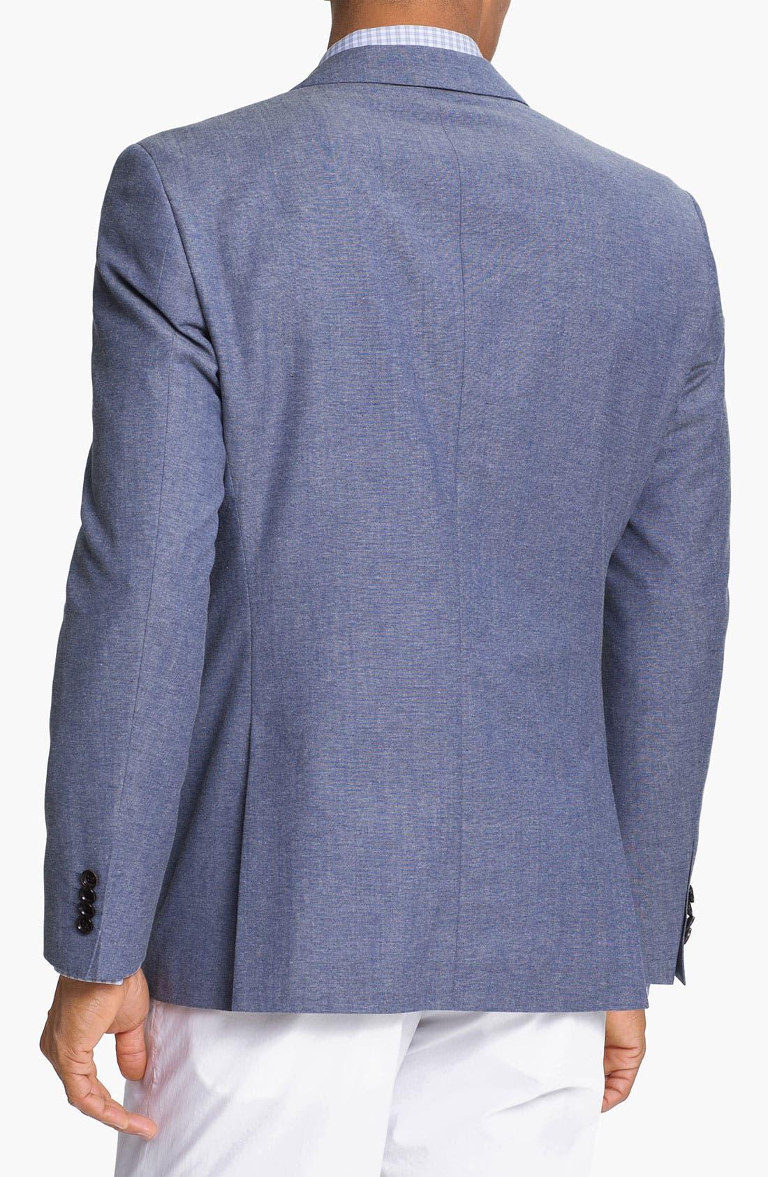 Alternate Image 2  - BOSS HUGO BOSS 'Jesse' Trim Fit Cotton Blend Blazer