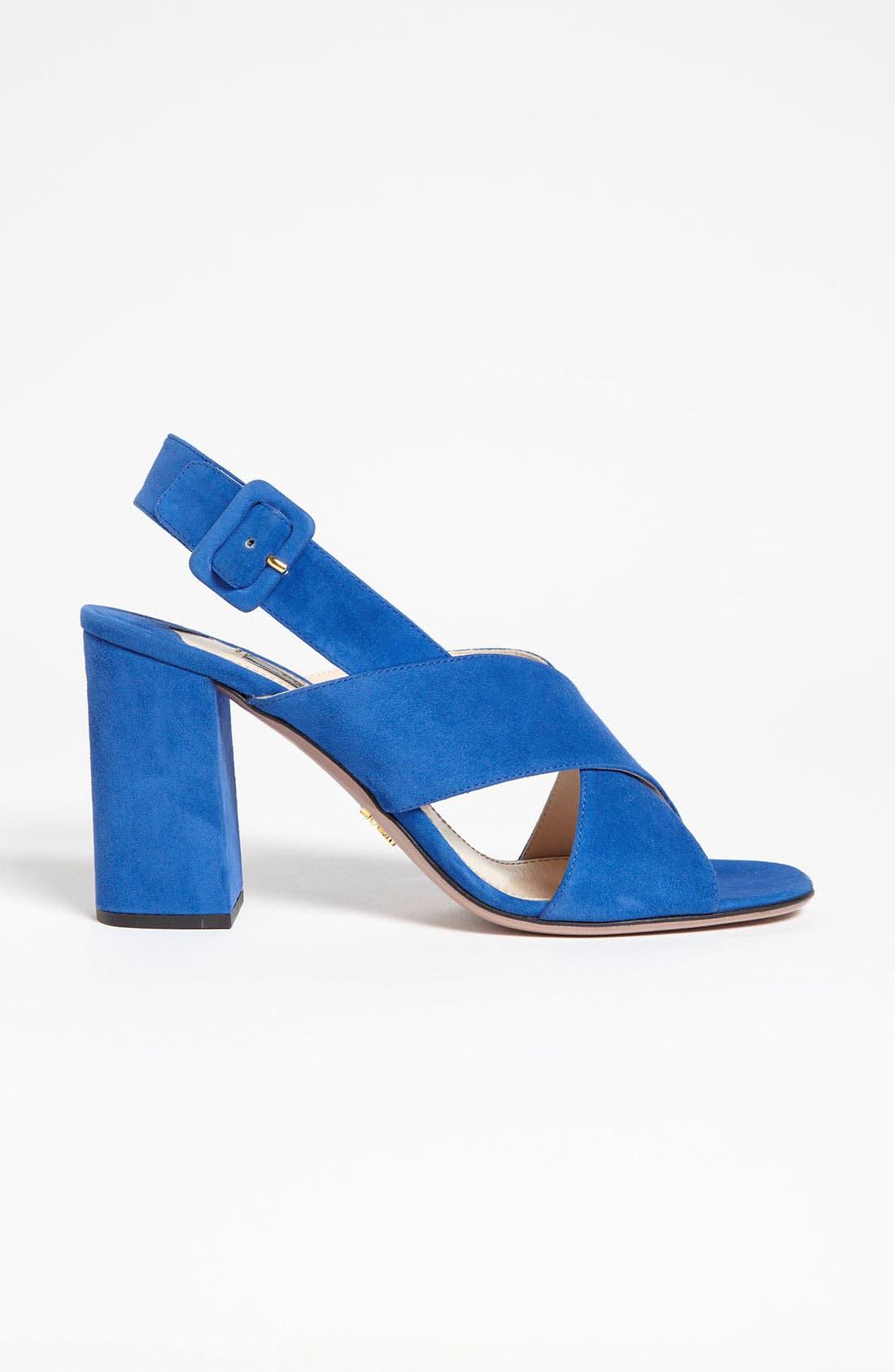 Alternate Image 4  - Prada Crisscross Slingback Sandal