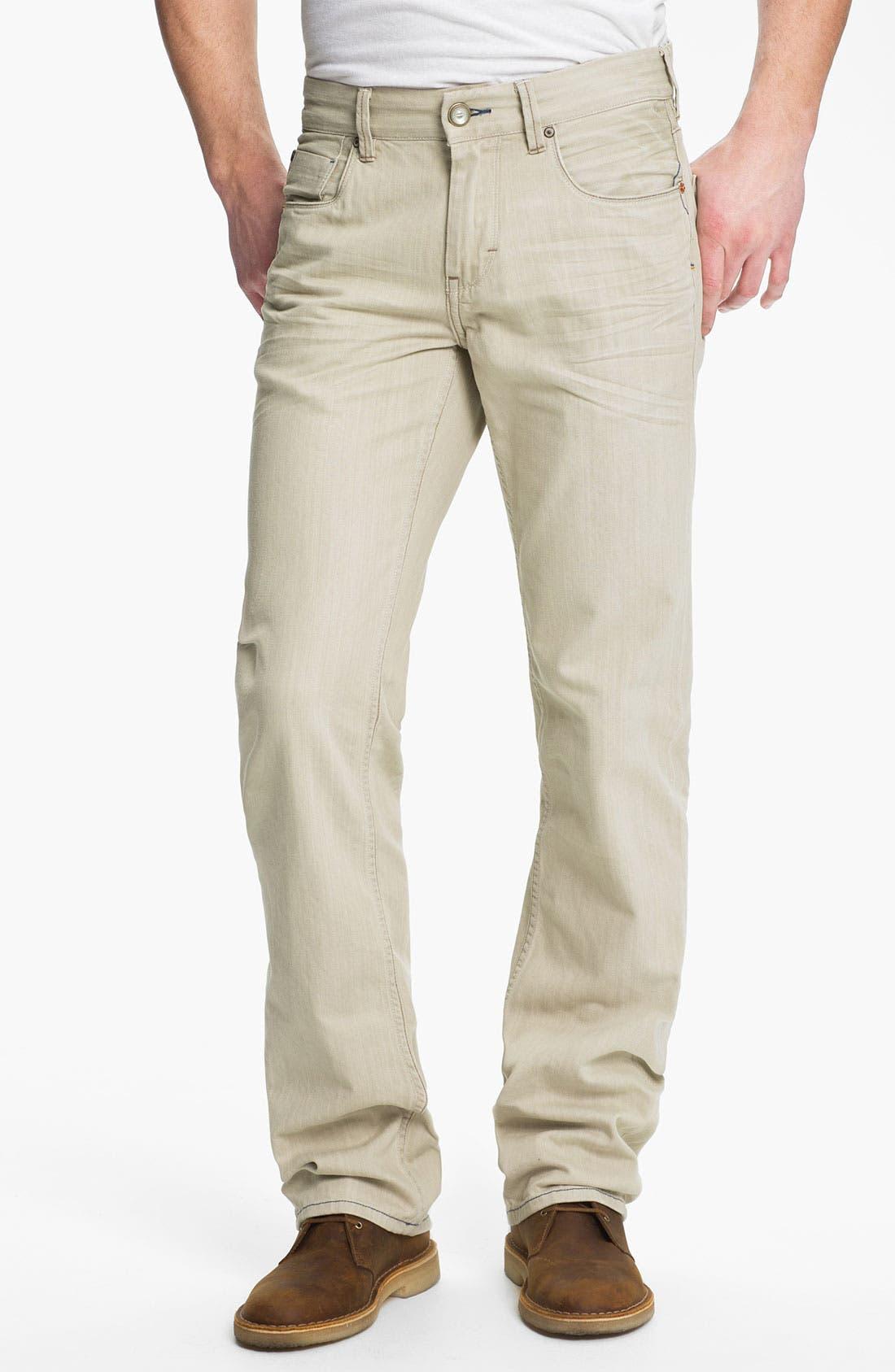 Main Image - Tommy Bahama Denim 'Zander' Authentic Straight Leg Jeans