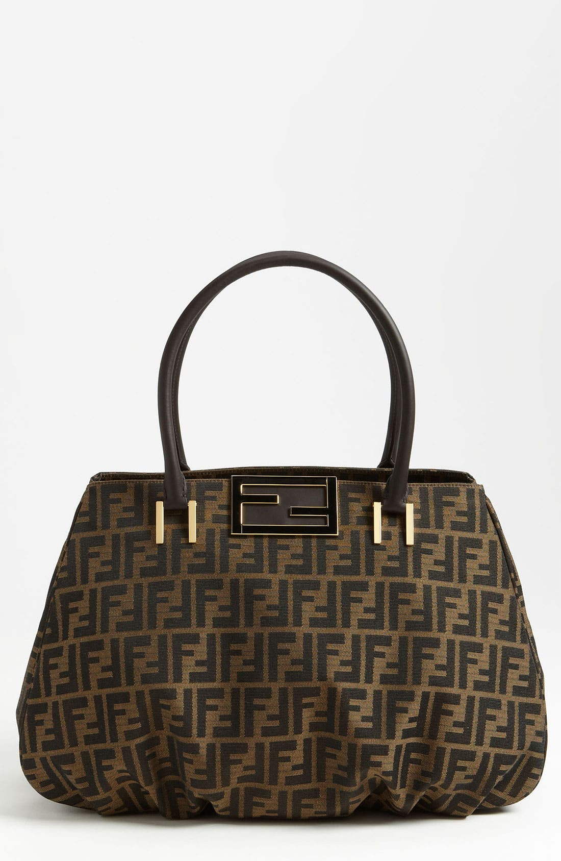 Alternate Image 1 Selected - Fendi 'Zucca Mia - Large' Tote