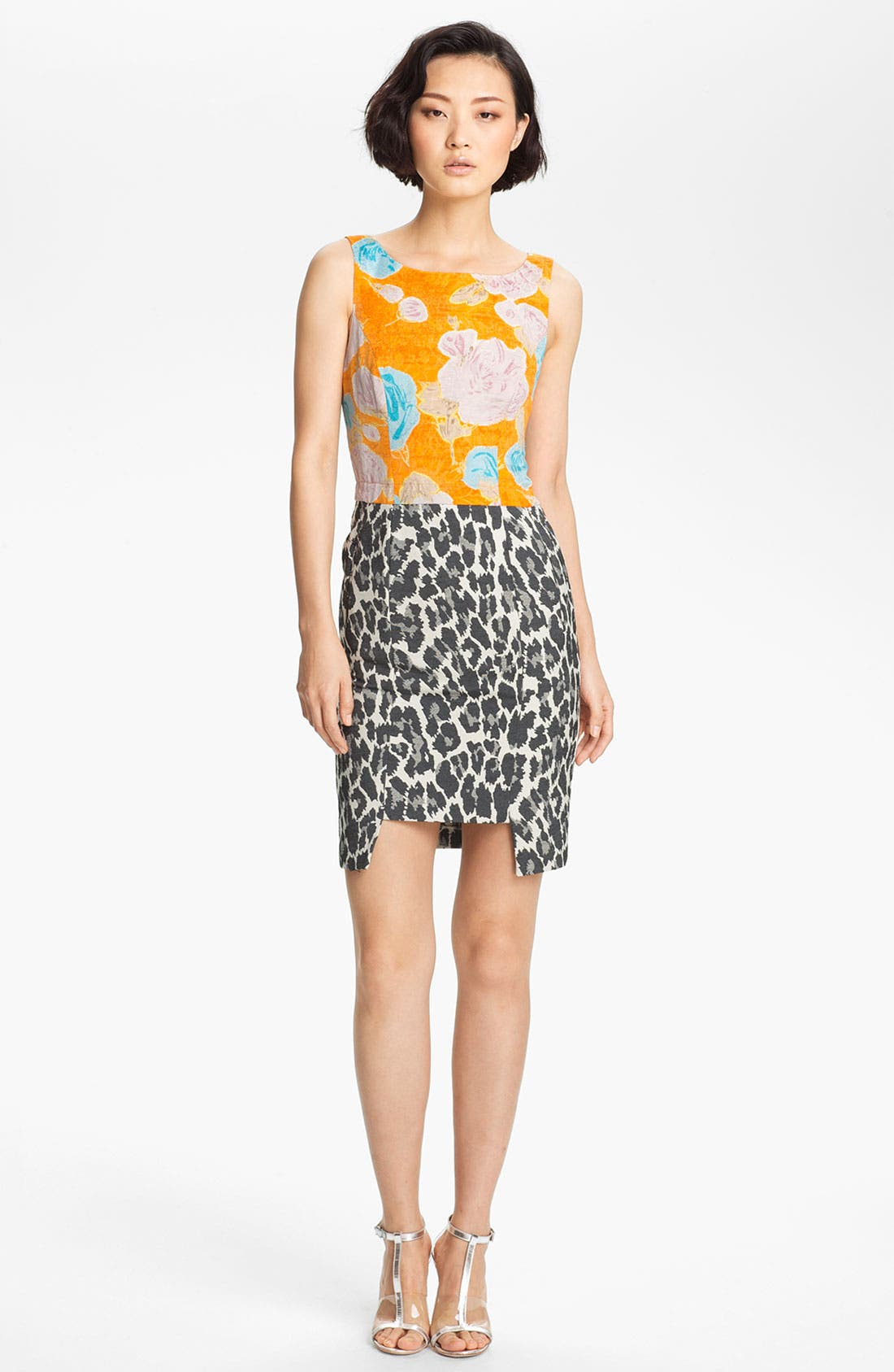 Alternate Image 1 Selected - Tracy Reese Jacquard Sheath Dress