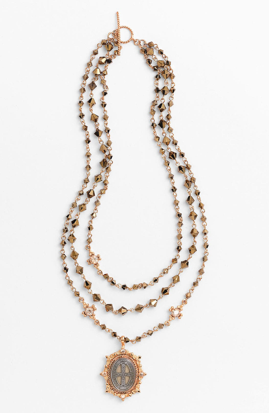 Main Image - Virgins Saints & Angels 'Oval Magdalena' Necklace (Nordstrom Exclusive)