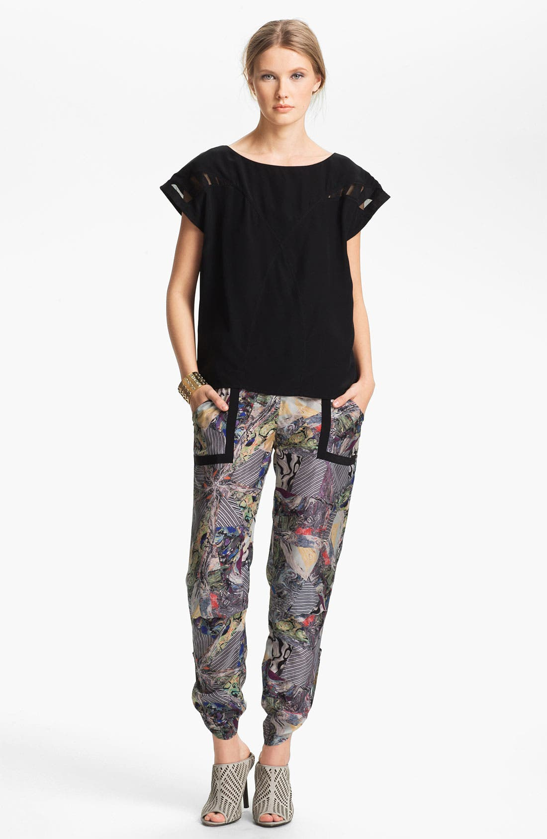 Alternate Image 3  - Kelly Wearstler 'Array' Print Silk Pants