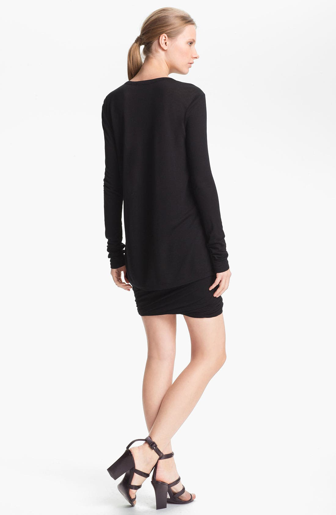 Alternate Image 2  - T by Alexander Wang Long Sleeve Pocket Tee