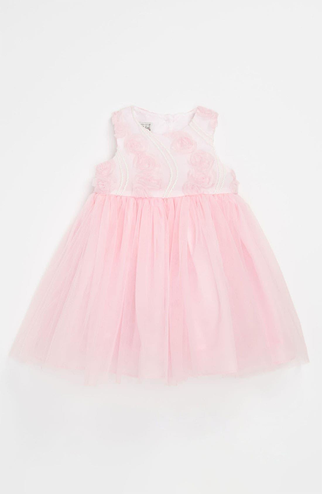 Main Image - Pippa & Julie Soutache Ballerina Dress (Toddler)