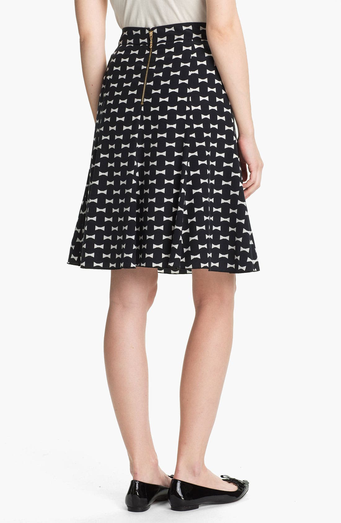 Alternate Image 2  - kate spade new york 'flirt' silk blend skirt