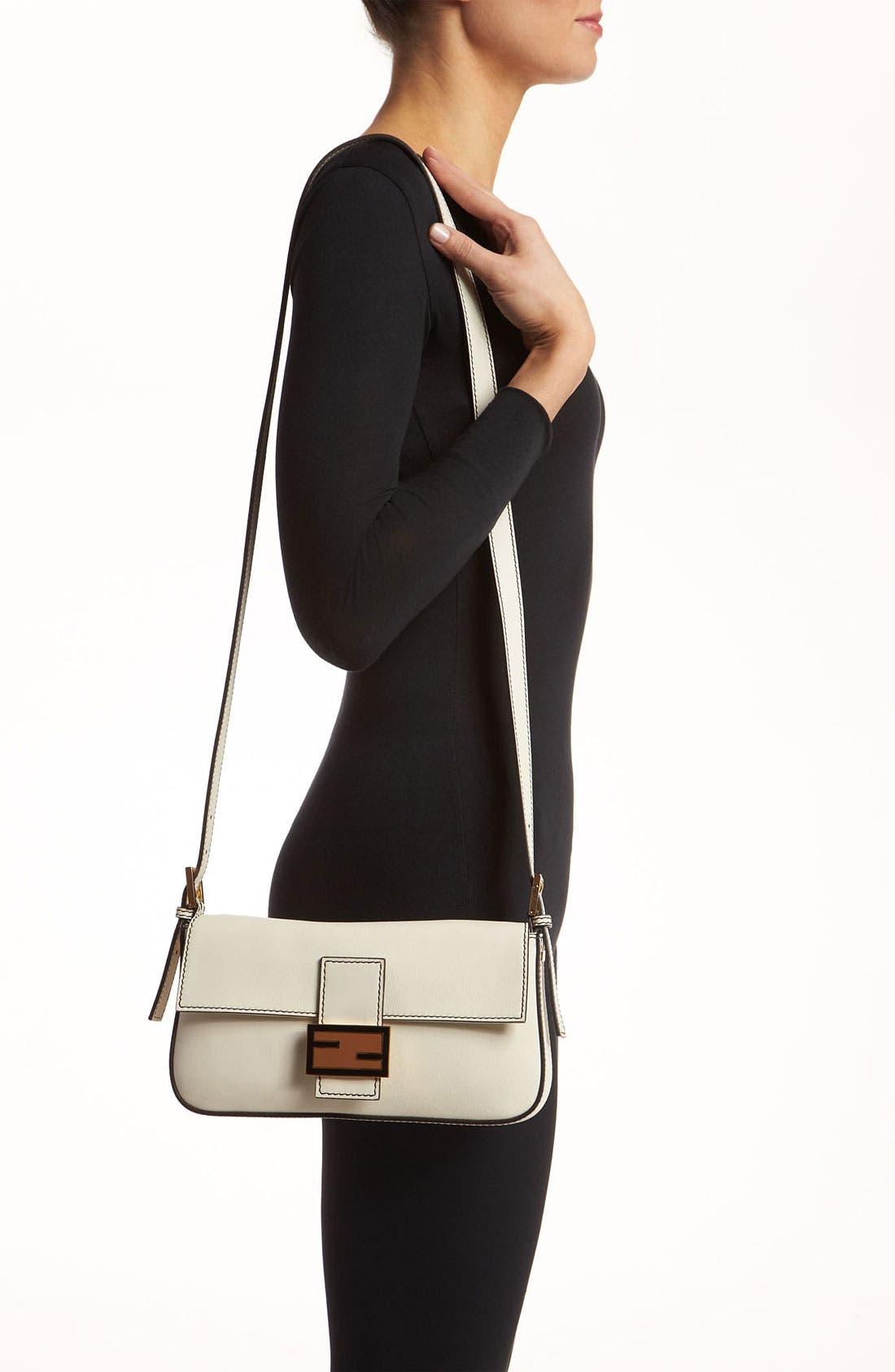 Alternate Image 2  - Fendi Leather Baguette