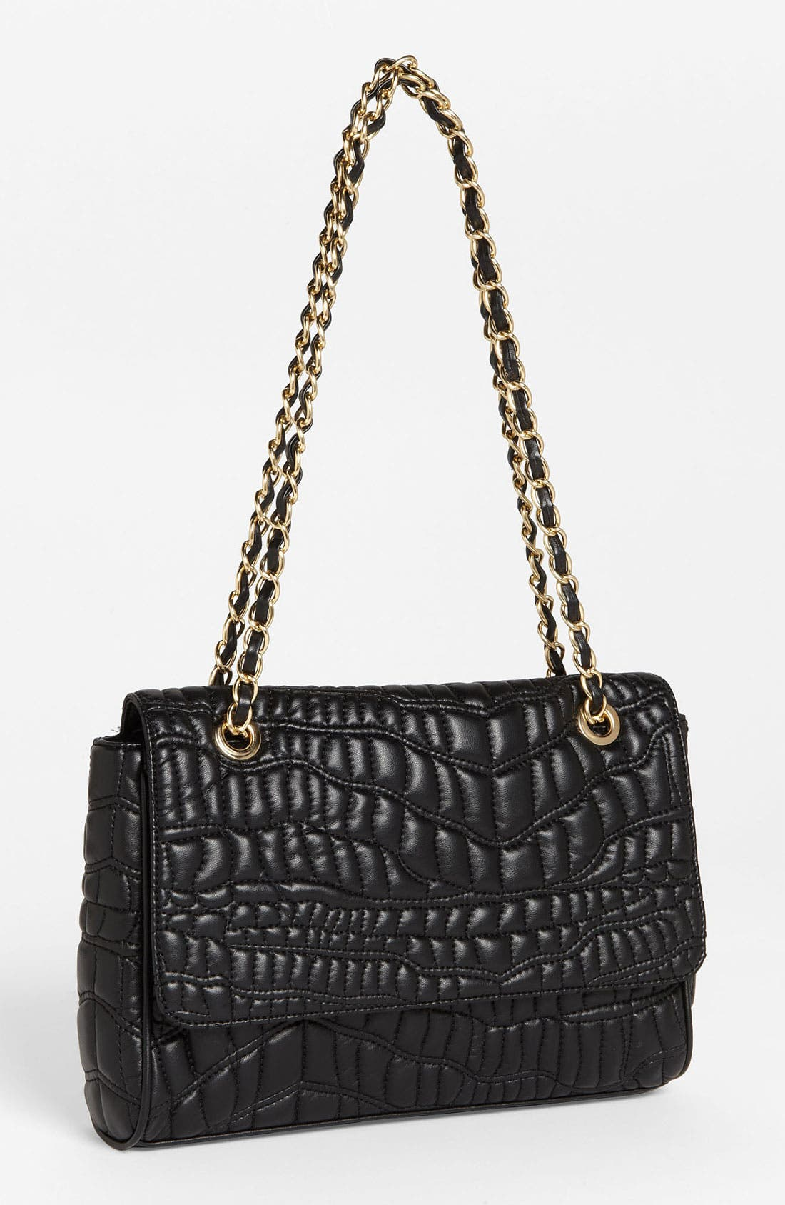 Main Image - Cesca Quilted Shoulder Bag