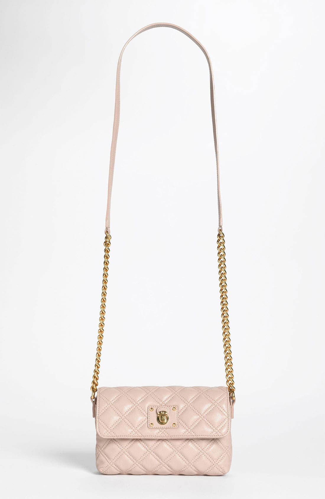 Main Image - MARC JACOBS 'Quilting - Single' Leather Shoulder Bag