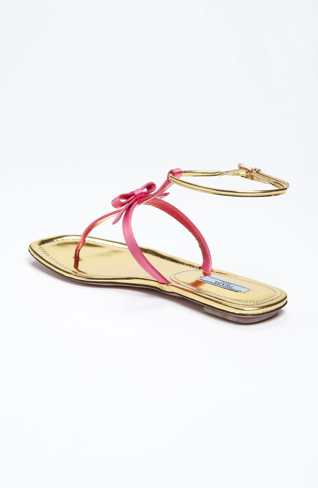 Alternate Image 2  - Prada T-Strap Sandal