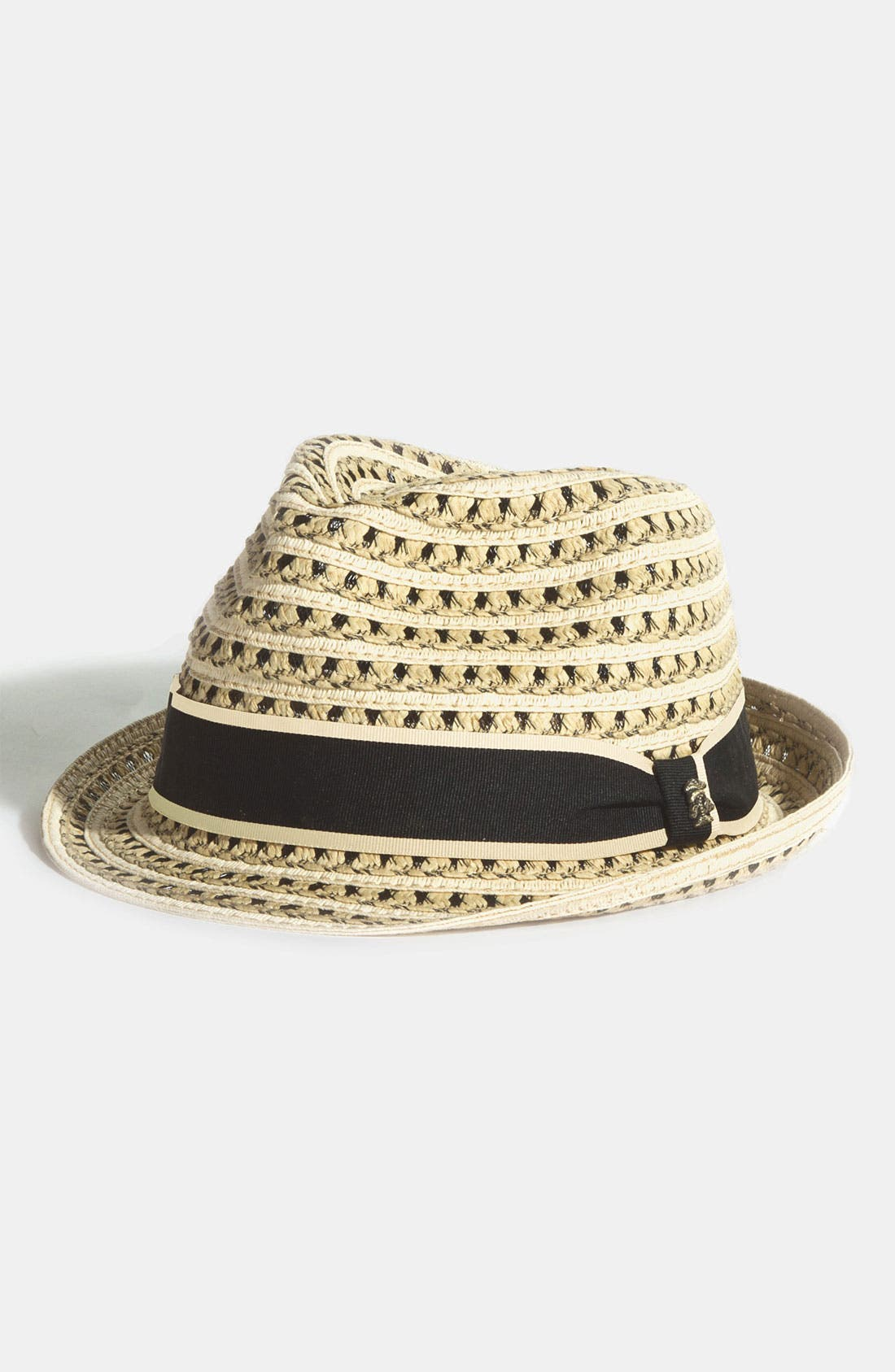 Alternate Image 1 Selected - Tommy Bahama Braided Paper Fedora