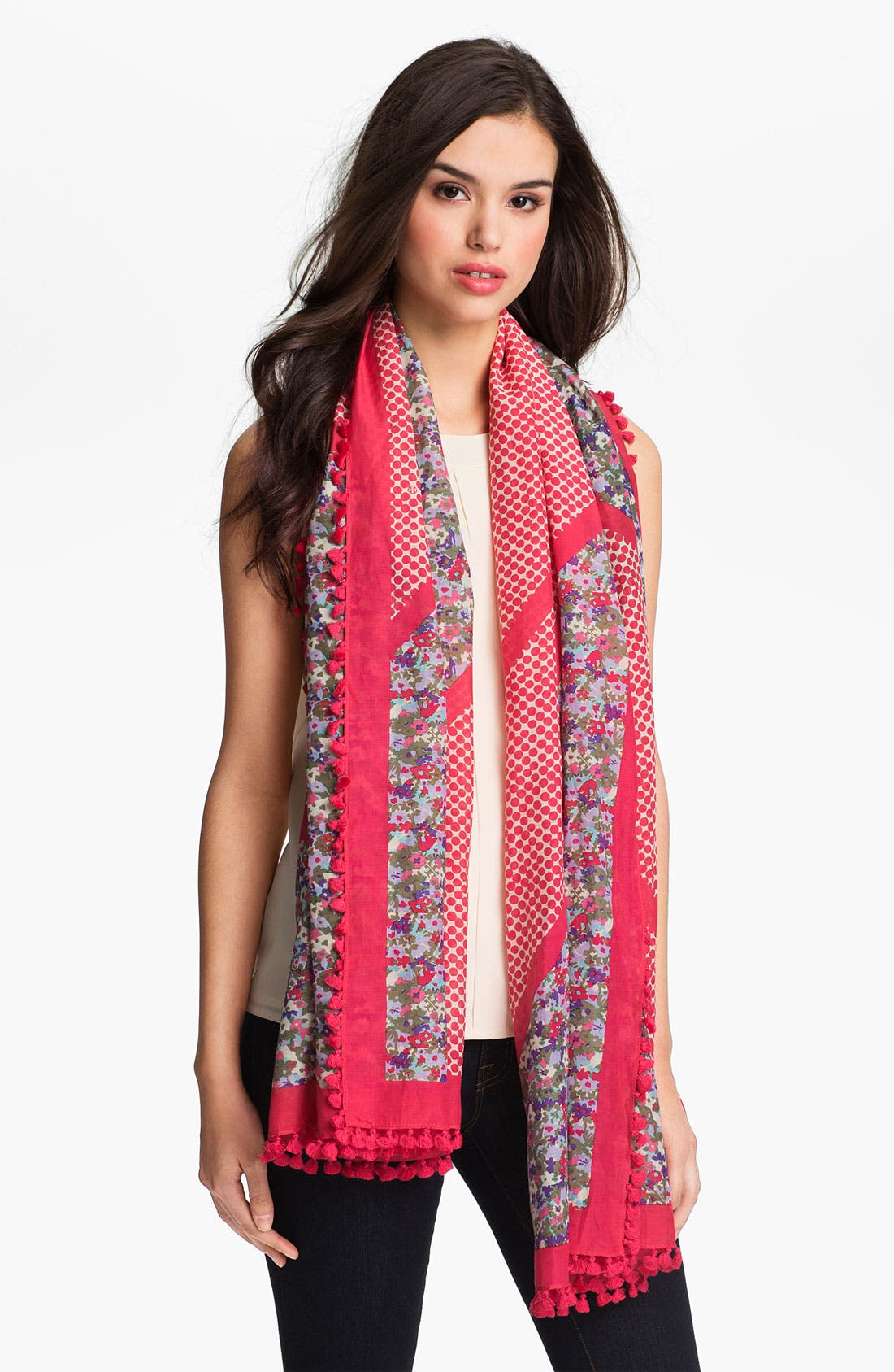 Main Image - Tory Burch 'Carlyle' Scarf