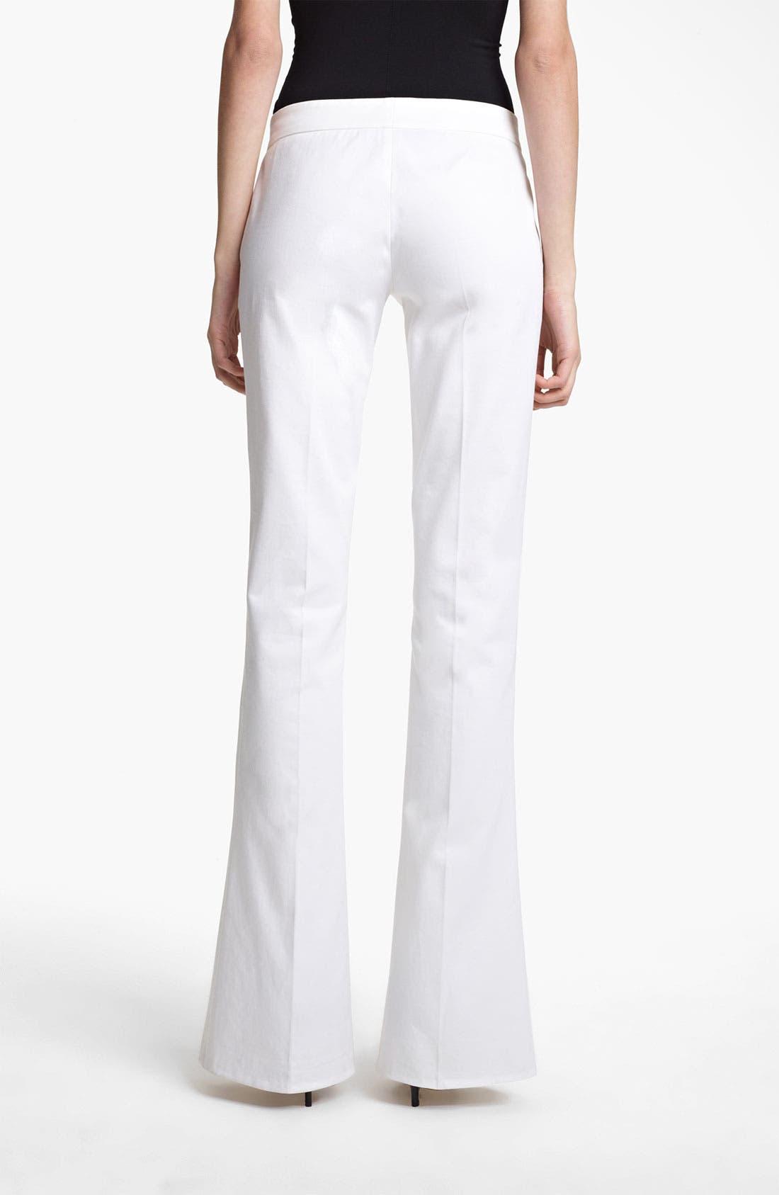 Alternate Image 2  - Emilio Pucci Bootcut Stretch Cotton Pants