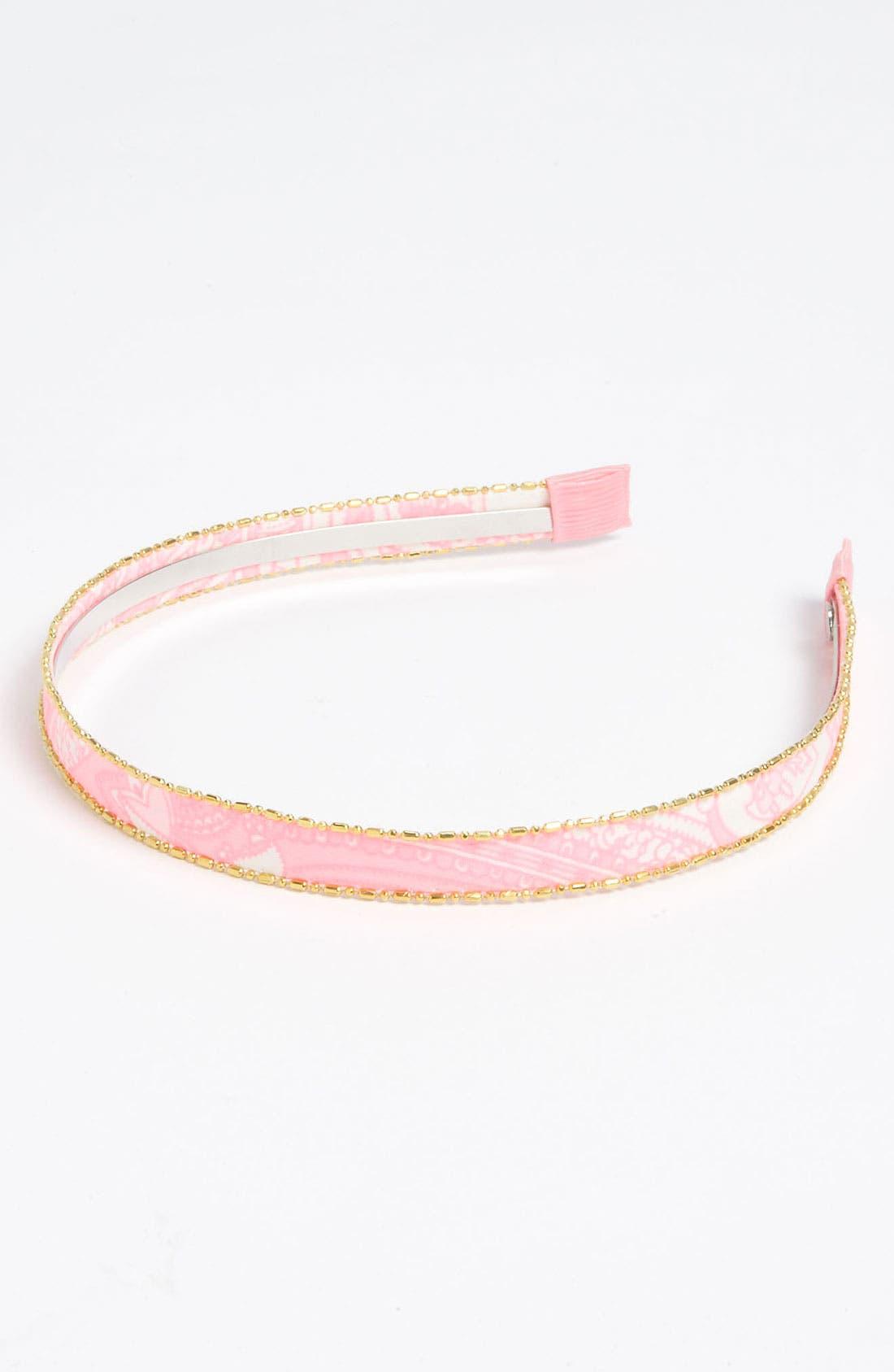 Main Image - Cara Printed Headband (Girls)