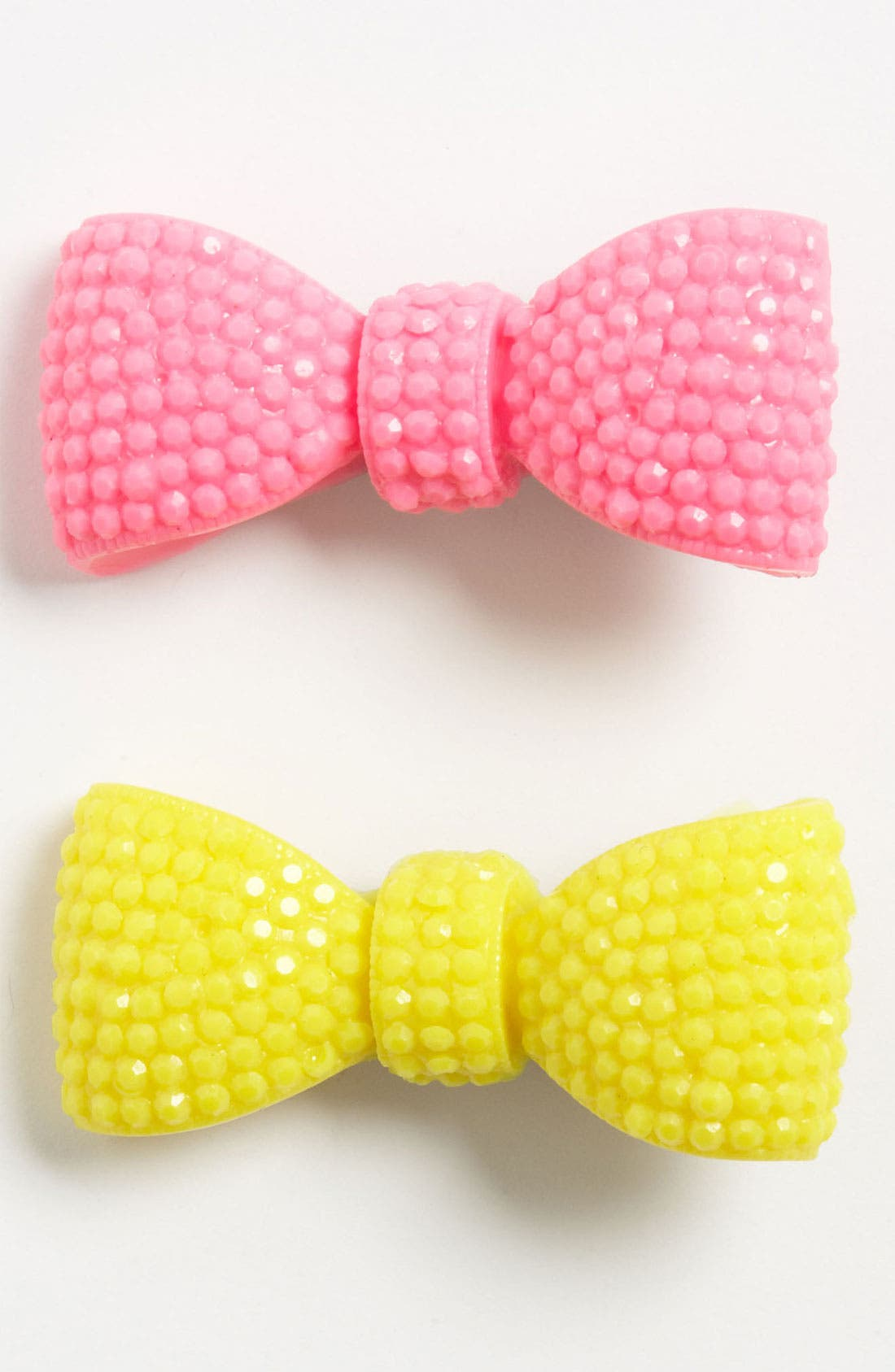 Alternate Image 1 Selected - Cara 'Bow' Hair Clip (2-Pack) (Girls)
