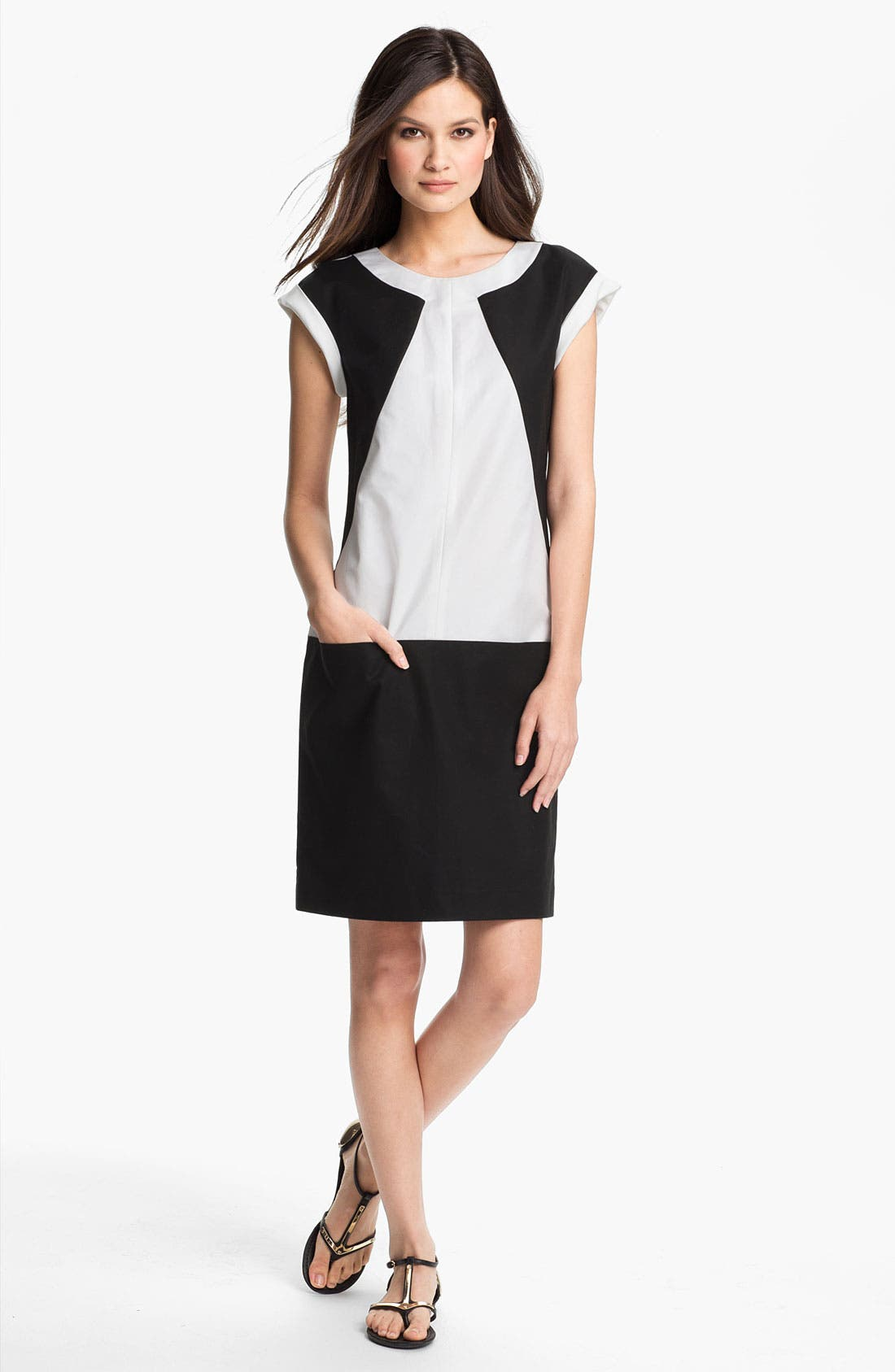 Alternate Image 1 Selected - Lafayette 148 New York 'Dima - Metropolitan Stretch' Dress