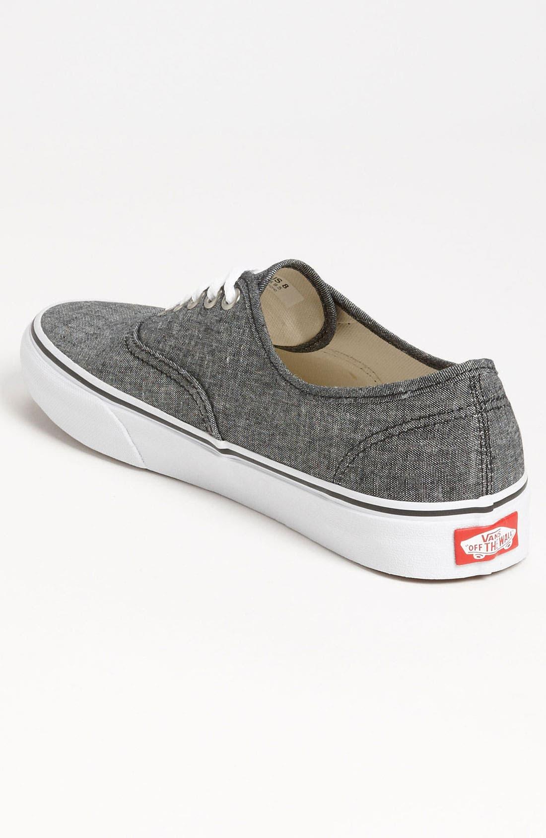 Alternate Image 2  - Vans 'Authentic' Sneaker (Men)